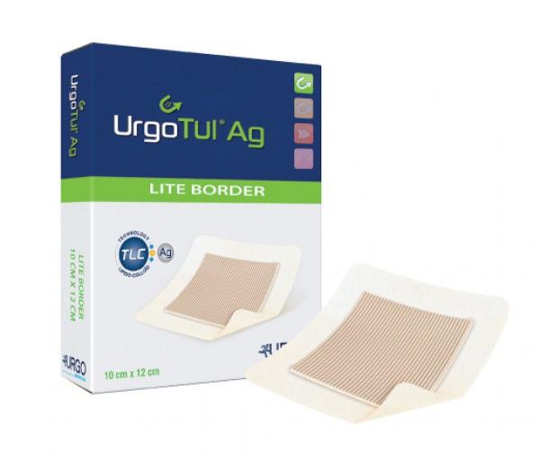 UrgoTül® AG Lite Border Gazewundauflage mit Silbersalz