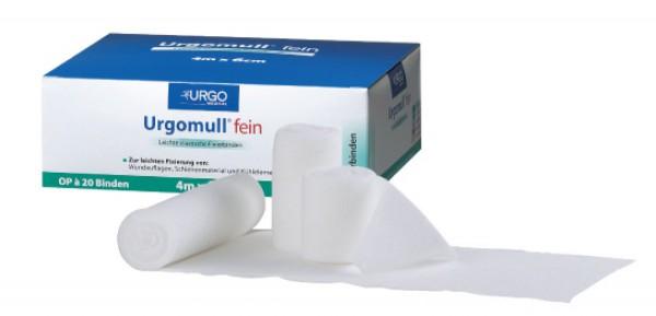 Urgomull gekräuselt leichte Fixierbinde