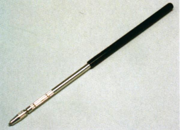 Halter aus Aluminium mit PVC Griff