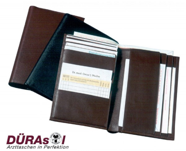 Rezept-Brieftasche aus Kalbleder