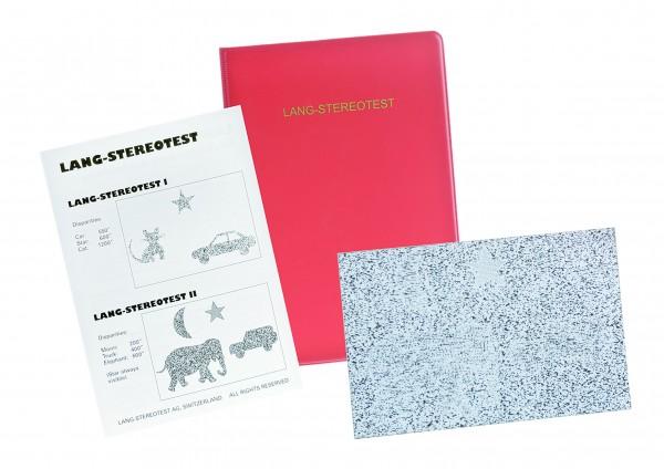 Stereo-Sehtest Lang-Test I 3 Objekte