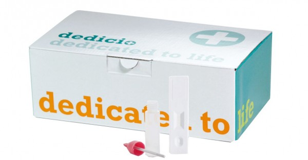 Norovirus dedicio® GI/GII Test Kassettentest
