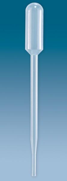 Transferpipetten Typ: A - 6,0 ml Länge 152 mm transparent