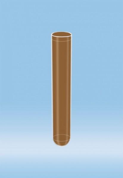 Röhre 5 ml braun f. Baby-Bili 75 x 13 mm