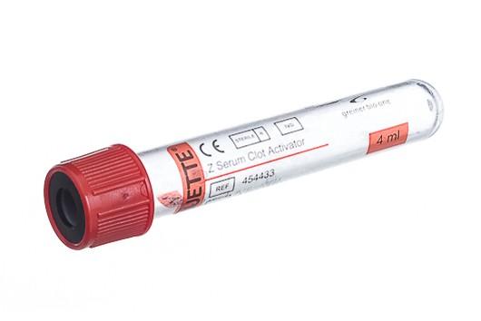 Vacuette® Röhrchen Z Serum Gerinnungsaktivator 4 ml - 13 x 75 mm