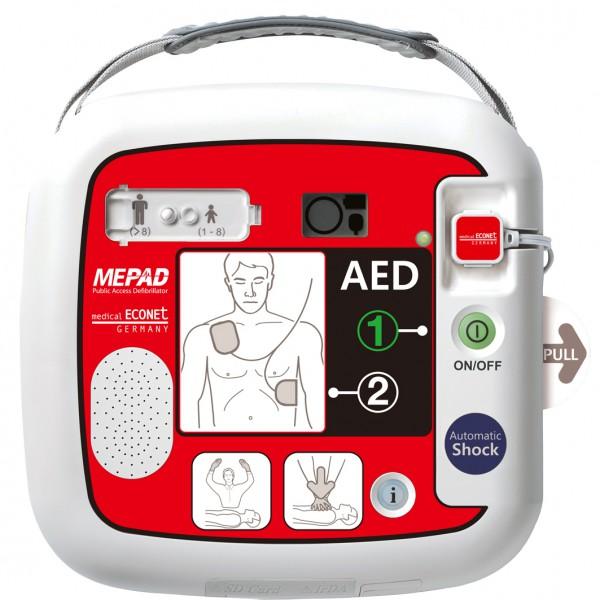 Defibrillator ME PAD Automatik vollautomatisch - extern.