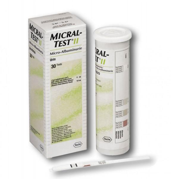 ROCHE Micral-Test® II Inhalt 30 Streifen (Kühlware)