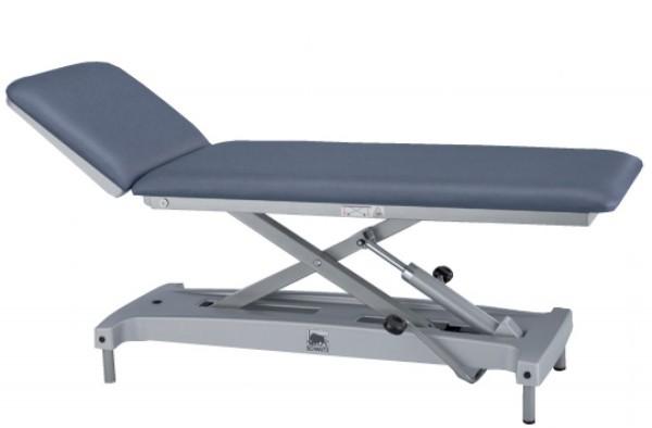 Unters.- und Behandlungsliege varimed® - classic elektronische Fußbedienung - Gestell: pulverbeschichtet L x B x H: 195 x 65 x 50 - 92 cm.