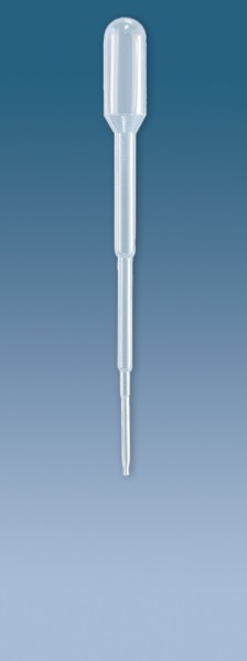 Transferpipette LD-PE Typ H ohne Graduierung 1 ml - 17 bis 22 µl - 104 mm transparent