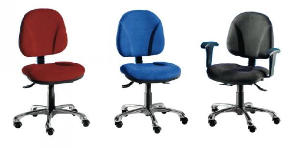Bürodrehstuhl - Möbelstoff Therapeutikus
