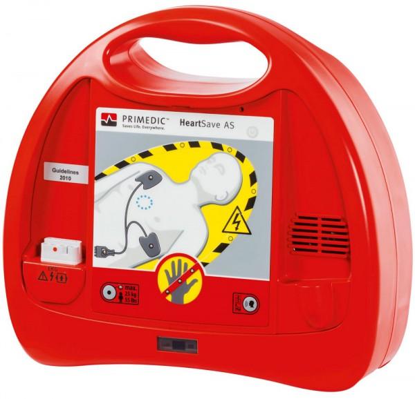 Primedic™ HeartSave AS Defibrillator - Vollautomat mit 6-Jahres-Lithium-Batterie.