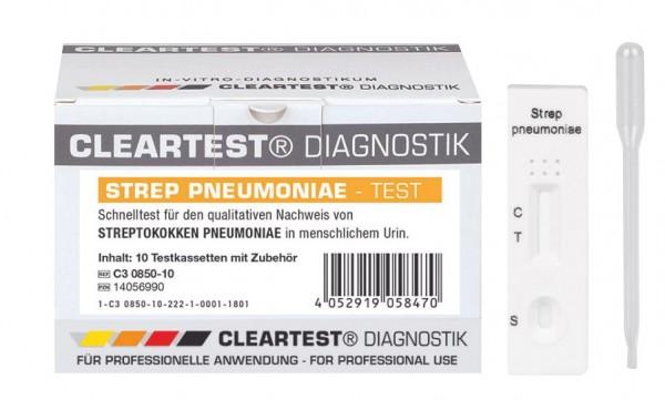 CLEARTEST® Pneumokokken